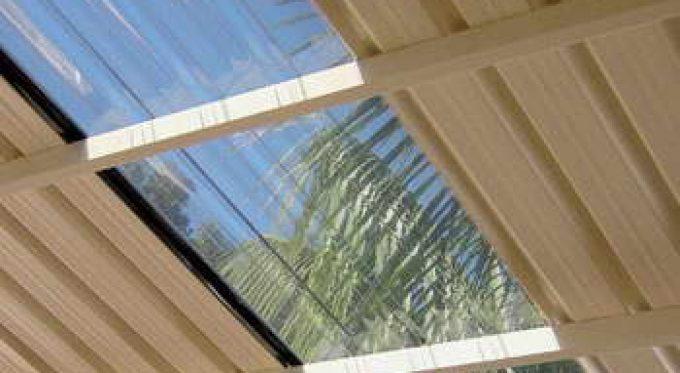 Polycarb corrugated sheeting