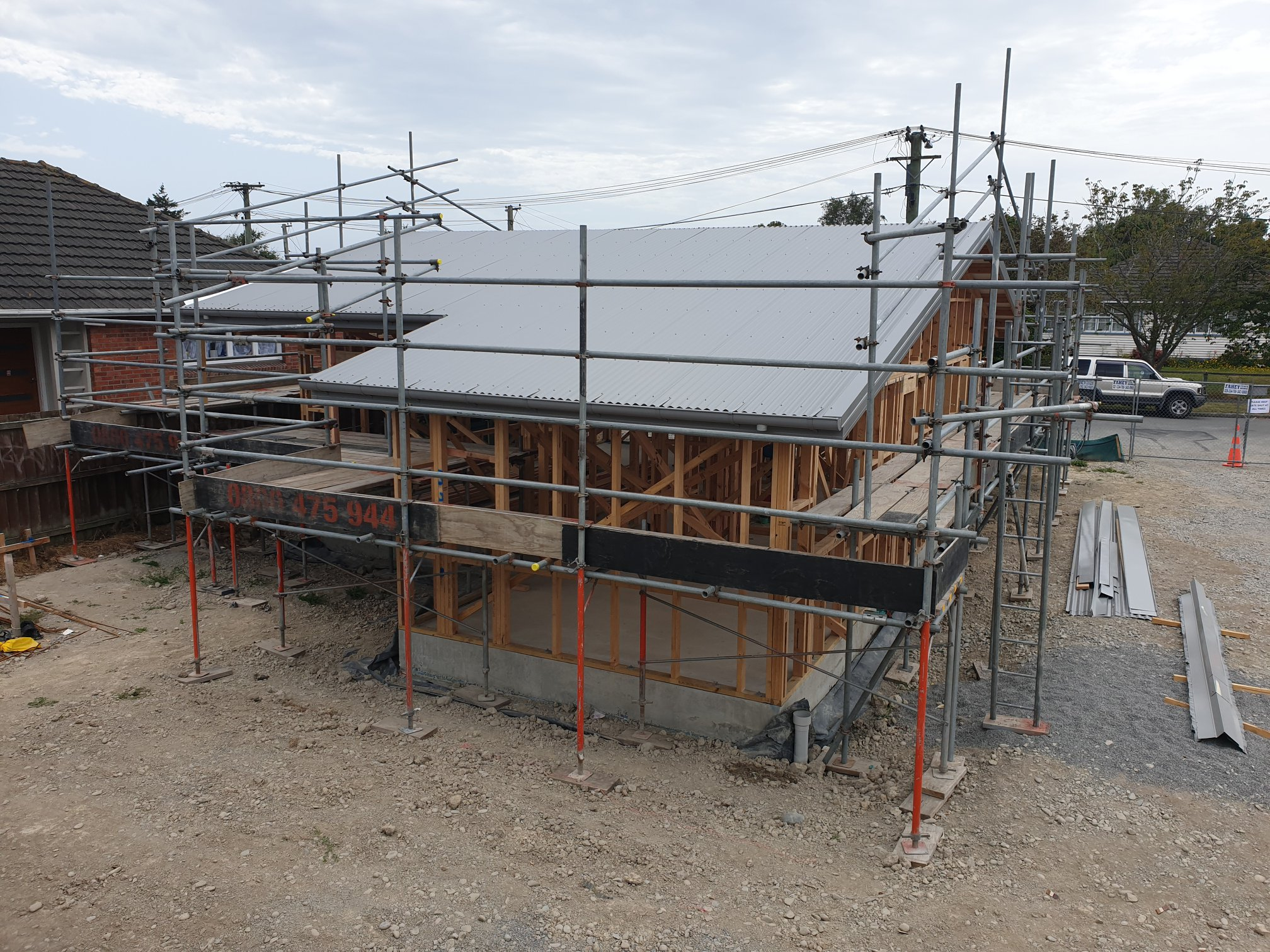 Roofing installation for Housing New Zealand units