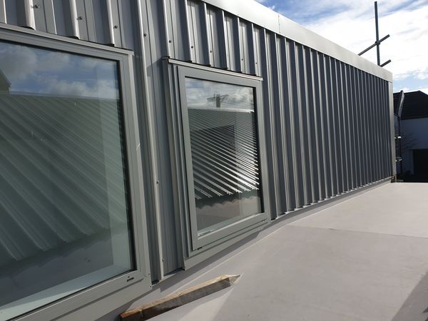 Steel as a wall cladding